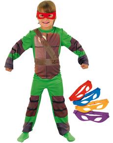 Fato de Tartarugas Ninja classic para menino