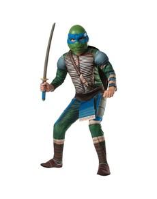 Fato de Leonardo musculoso Tartarugas Ninja Filme para menino