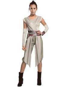 Fato de Rey Star Wars Episódio VII para mulher